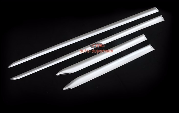 4Pcs ABS Chrome Side Body Molding Trim Cover For Lexus ES300//350  2013-2017