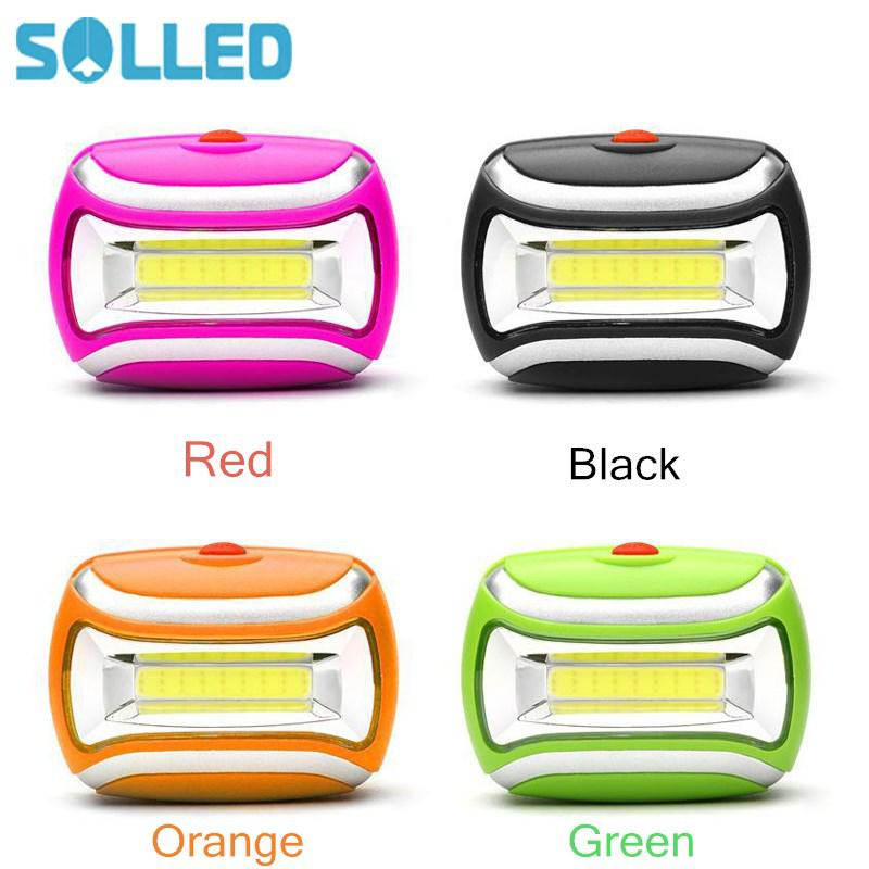 AKDSteel Rechargeable Strong Light COB LED Headlamp Bicycle Lights Head Lamps for outdoor camping