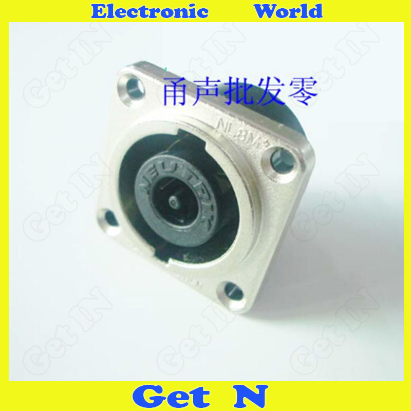 ФОТО 5pcs Swiss NLT8MP Metal Waterproof Connector 8 Pin Stereo Jack 8 Core Male Audio Plug Ohm Socket For NEUTRIK