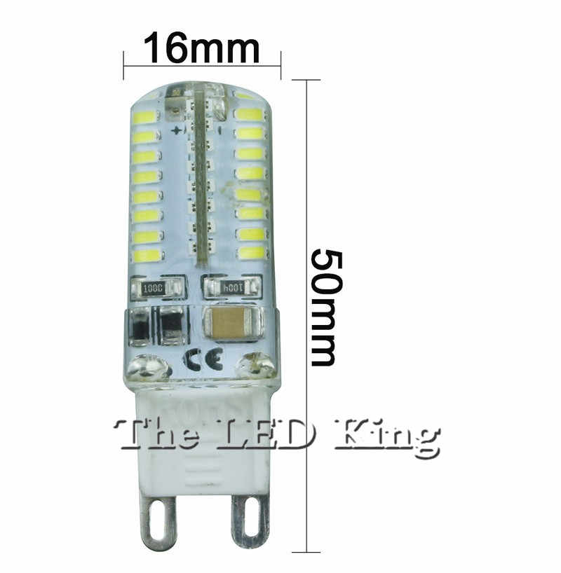 2019 Cree Hot Sale LED lamp G9 corn Bulb AC 220V 7W 9W 12W SMD 2835 3014 LED light 360 degrees Beam Angle spotlight lamps bulb
