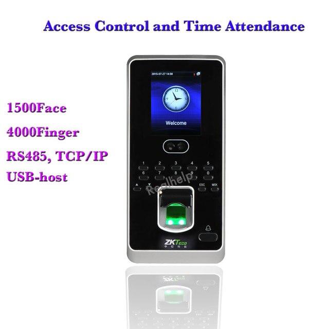 Hot Sale Iface 3 MultiBio800 Multi-Biometric Identification Time Attendance Access Control ZK System BioEntry Face Door Opener