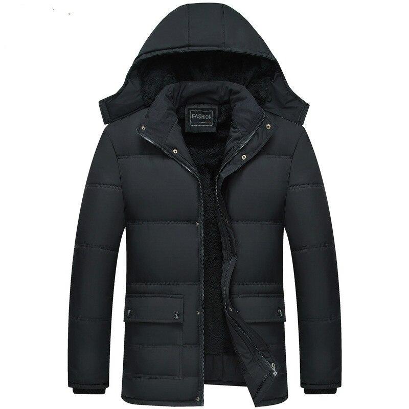 Winter Jacke Männer Grad Verdicken Warme Parkas Mit Kapuze Mantel Fleece Mann der Jacken Outwear Jaqueta Masculina drop verschiffen