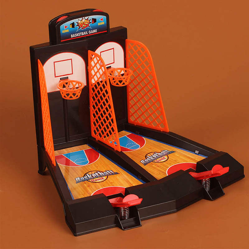 Funny Desk Basketball Ball Toy Press Release Kids Toy Table Basketball Basquete Tabela Activity Game As Child Teenager Ball Gift