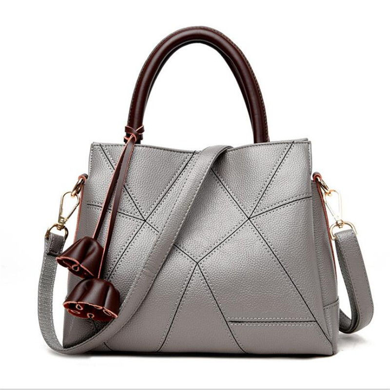 S.IKRR Sac A Main Femme Leather Luxury Handbags Women Bags Designer Hand bags Women Shoulder Crossbody Messenger Bag 2019 Casual