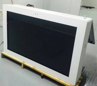 Outdoor 37 50 55 65 70 98 inch wall mounted led lcd tft hd waterproof TV Advertising Multi Media 1080p digital signage player
