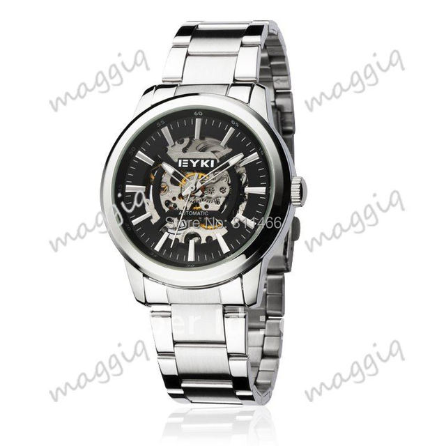 EYKI Brand Watch For Men Full Stainless Steel Automatic Mechanical Watches-W8526AG