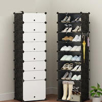 Furniture Shoe Cabinet Shoes Racks Storage Large Capacity Home Large Organizer Removable Shoe Storage For Home Living Room