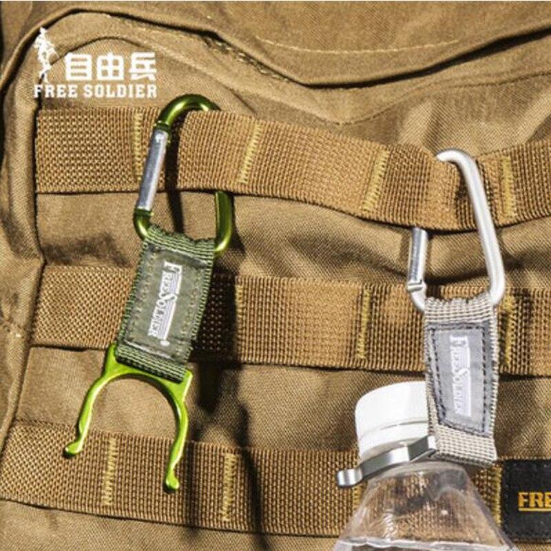 Free soldier acampar al aire libre senderismo escalada multifunción gancho en fo