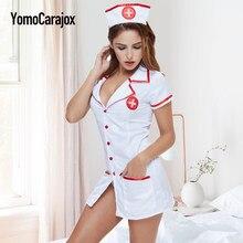 f1052e15a Enfermeira Sexy Traje Erótico Trajes Sexy Mulheres Lingerie Erótica Sexy  Roupa Interior Da Empregada Doméstica Lingerie Sexy Rol.