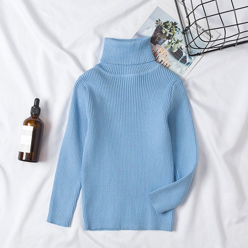 06905a374046 Girls Sweaters Solid Candy Color Boys Sweaters Autumn New Knitted ...