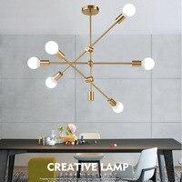 Современный светодиодный светильник с подвеской в скандинавском стиле, Светильники для гостиной, подвесные светильники, подвесные светиль