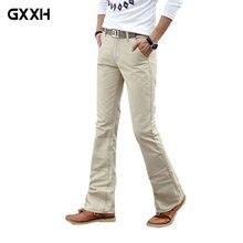 Весна лето осень повседневные расклешенные джинсы мужские узкие джинсы Высокая мода мужские белые джинсы Размер 27-36 38