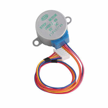 10PCS/LOT 28BYJ-48 Lead 25cm Stepper Motor DC 5V 4 Phase Step Motor Reduction Newest - DISCOUNT ITEM  5% OFF All Category