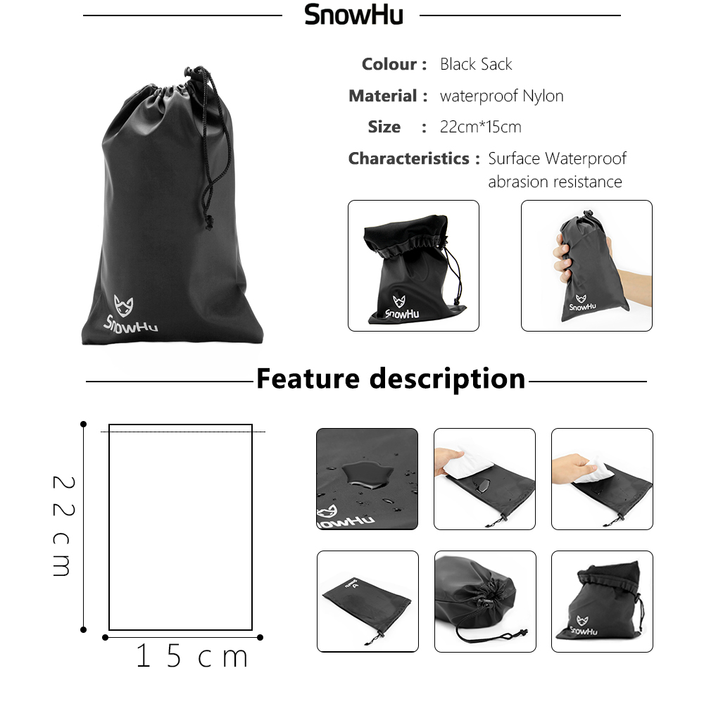SnowHu For Chest Strap Floaty Bobber Monopod Head Belt Mount For Gopro Hero 7 6 5 For SJCAM for Xiaomi Camera Accessories SH83V in Sports Camcorder Cases from Consumer Electronics