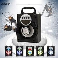 Newest Best Price Outdoor Bluetooth Wireless Portable Speaker Super Bass With USB TF AUX FM Radio