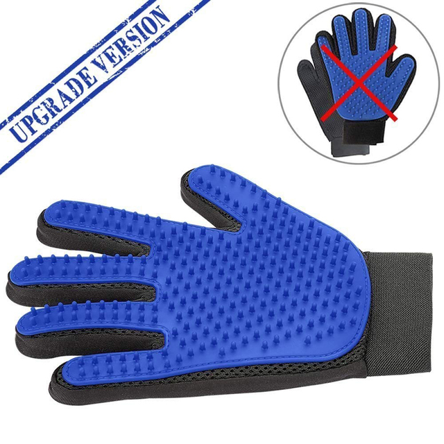 Silicone Pet Grooming Glove For Cats 2