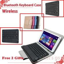 Universal Wireless Bluetooth Keyboard case For Lenovo P8 TAB3 8 Plus 8 0 TB 8703F TB