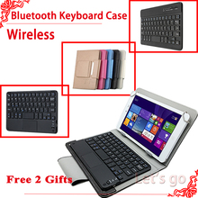Universal Wireless Bluetooth font b Keyboard b font case For Lenovo P8 TAB3 8 Plus 8