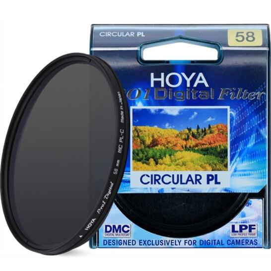 Hoya pro1 digital cpl filtro 52 55 58 62 67 72 77 82 mm polarizando polarizar filtro CIR-PL multi revestimento para câmera lente protetor