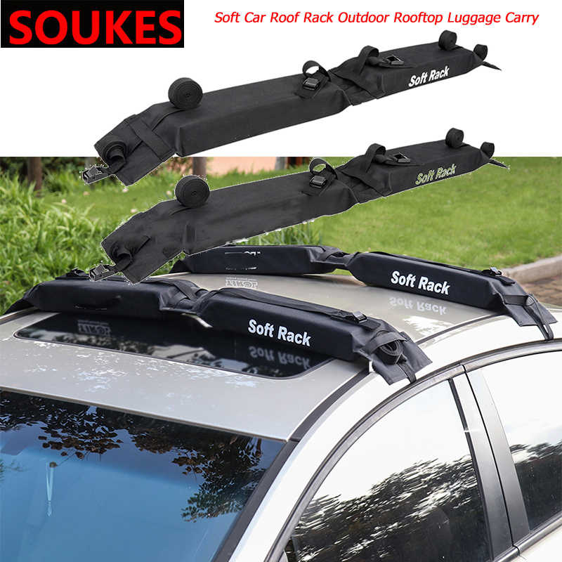 Soft Car Roof Rack Outdoor Rooftop Luggage Carry For Toyota Corolla Avensis Rav4 Yaris Auris Hilux Prius Verso Mg 3 Zr Buick Aliexpress