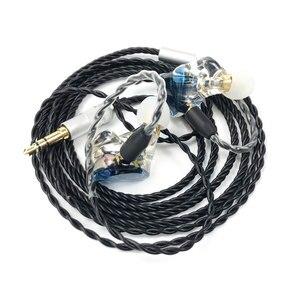 Image 3 - MMCX TD08 Hi Res Headphones HIFI Hybrid Earphone 1BA+1DD Earbuds Powerful Stereo Headset Custom Made DJ Monitor  Earphones