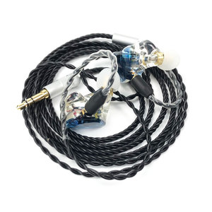 Image 3 - MMCX TD08 היי Res אוזניות HIFI היברידי אוזניות 1BA + 1DD אוזניות עוצמה סטריאו אוזניות תפור לפי מידה Dj צג אוזניות