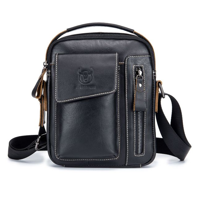 DCOS Bullcaptain Genuine Leather Business Messenger Bag Vintage Crossbody  Bag For Men-in Crossbody Bags from Luggage   Bags on Aliexpress.com  49304ae0d5b3b
