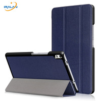 PU Leather Flip Stand Case For Lenovo Tab4 8 Plus TB 8704F TB 8704N Tablet Protective