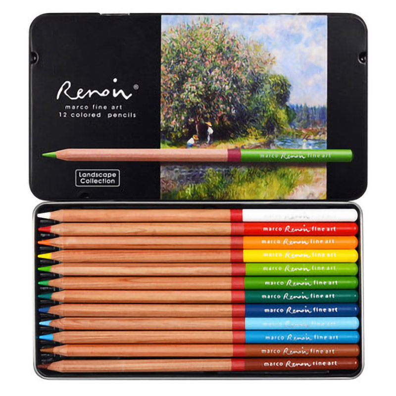 MCRCO student utensils characters theme landscape still life hand-painted color lead color professional oil painting color penciMCRCO student utensils characters theme landscape still life hand-painted color lead color professional oil painting color penci