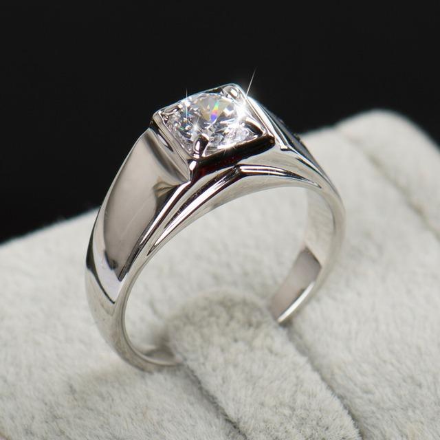 Austria Crystal Zircon Men Ring