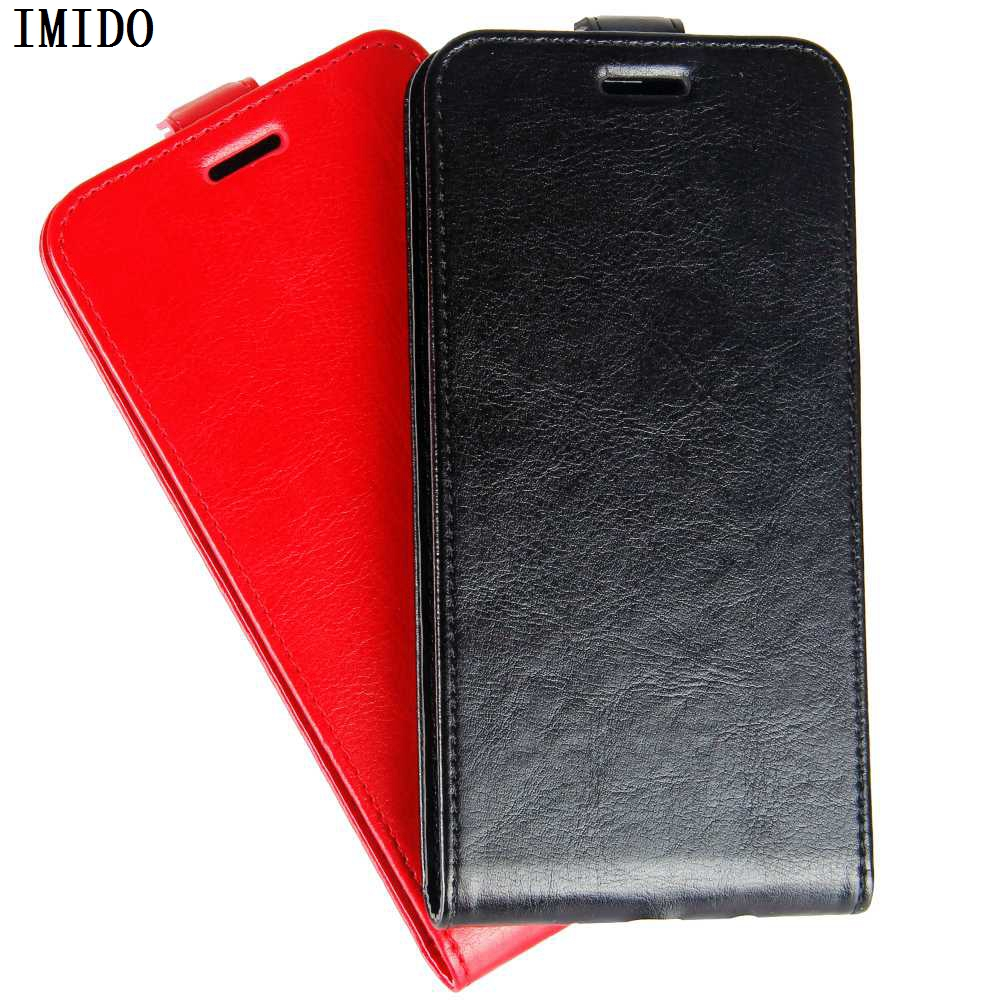 IMIDO PU Leather Flip back phone case For LG Stylo 4