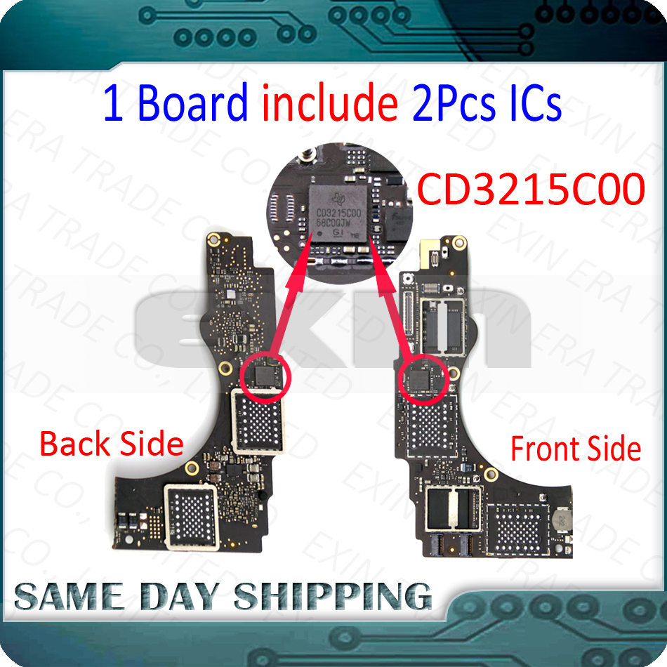 Laptop Repair Motherboard IC Chip For Macbook Pro A1706 A1707 CD3215C00 CD3215COO On Faulty Not Working Main Board Logic Board