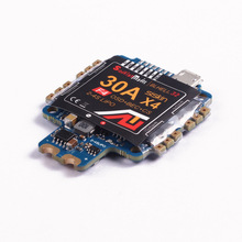 цена на F4S 30A BLHELI_32 4in1 ESC 5V BEC w/ F4 Flight Controller AIO OSD Current Sensor for RC Drone