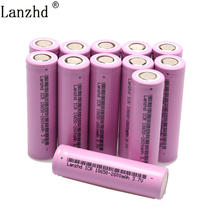 12PCS 18650 Battery 3.7V Rechargeable batteries for samsung Batteries Capacity 2600MAH Li-ion