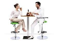 Европейский кофе стулья из нержавеющей стали вращающийся барный стул Розничная Оптовая продажа, Бесплатная доставка