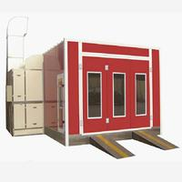 Environmentally Friendly Paint House Spray Booth Can Be Customized