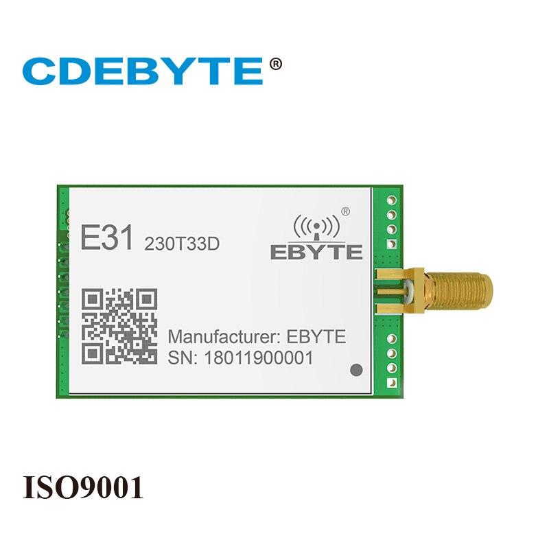 E31-230T33D Strong Penetration Long Range AX5243 230Mhz 2W SMA Antenna IoT Vhf Wireless Transceiver Transmitter Receiver Module