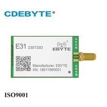 Free shipping CDEBYTE E51-TTL-2W GFSK UART 8000m 230MHz rf Module AX5043 Wireless Transceiver Module цена