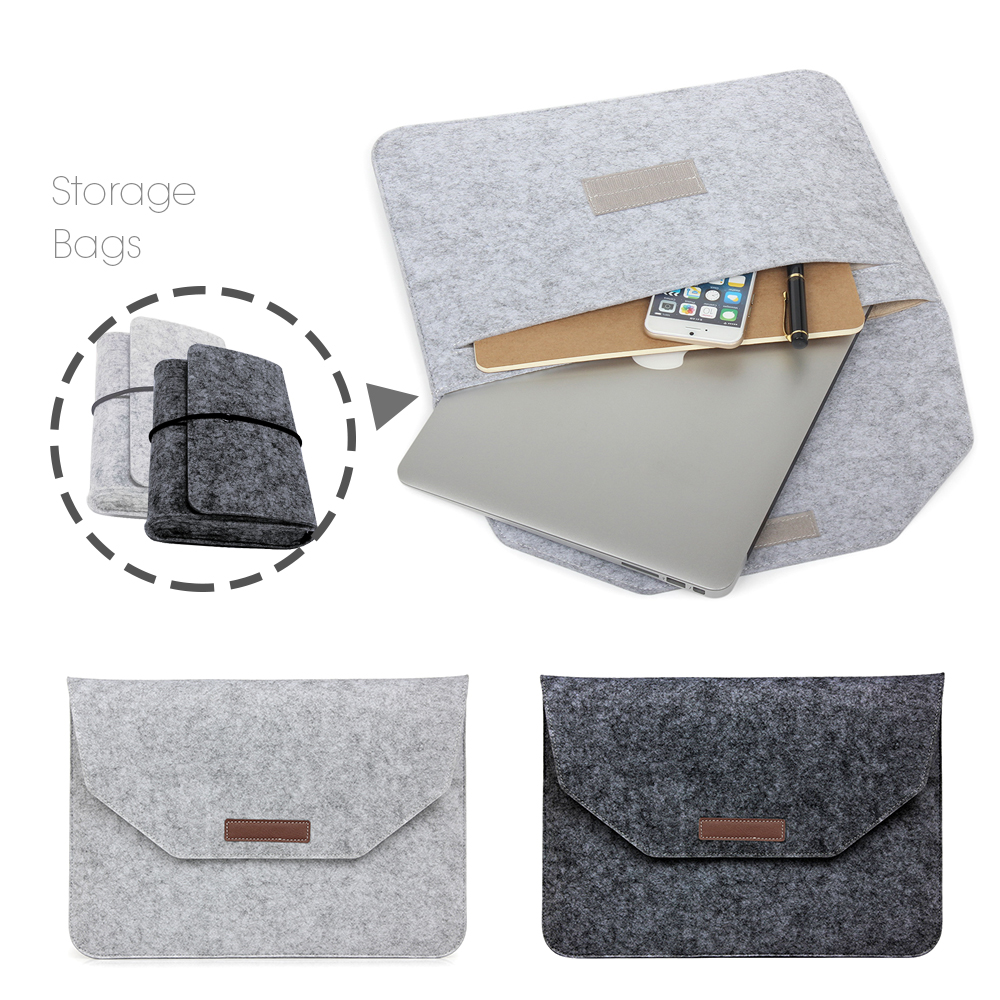 New Fashion Soft Sleeve Bag Case For Apple Macbook Air Pro Retina 11 12 13 15 Laptop Anti-scratch Cover For Mac book 13.3 inch hot pu leather sleeve case for macbook air 11 air 13 retina 13 3 inch pro 15 4 envelope bag wholesales free drop shipping