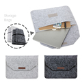 Nova moda macio sleeve case bag para apple macbook air pro retina 11 12 13 15 Laptop Anti-scratch Capa Para Mac book 13.3 polegada