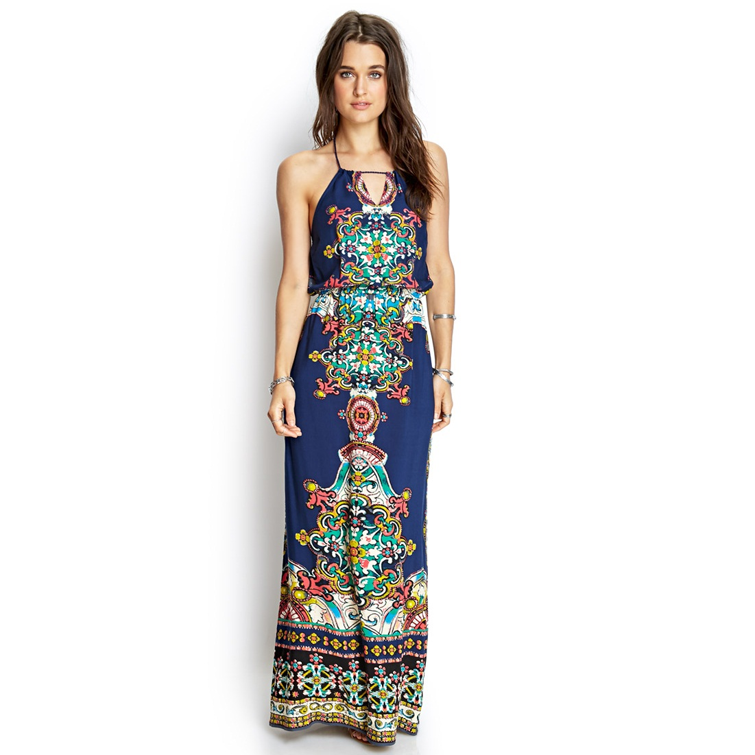 Bohemian Style Maxi Dresses for Women
