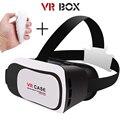 Kit VR VR 3D Juego Virtual Gafas De Cartón Caja de Cartón 2.0 Para 3.5-6.0 pulgadas Smartphone + Bluetooth Controlador B5