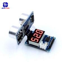 HC-SR04P ультразвуковой датчик HC-SR04 датчик расстояния светодиодный дисплей модуль для Arduino UNO робот