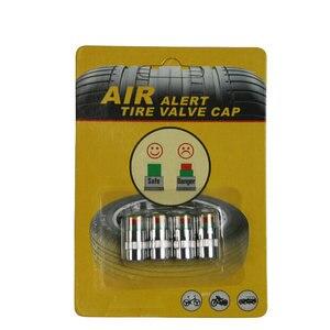 Image 3 - Universele Visiable 32 Psi 2.2 Bar Air Waarschuwing Alert Ventiel Druk Sensor Monitor Licht Cap Indicator Voor Auto S