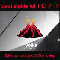 VOLKA arabski IPTV europa kod inteligentny IPTV subskrypcja francuski europa hiszpański belgia kanały 120 hd265 król ott magnum ott