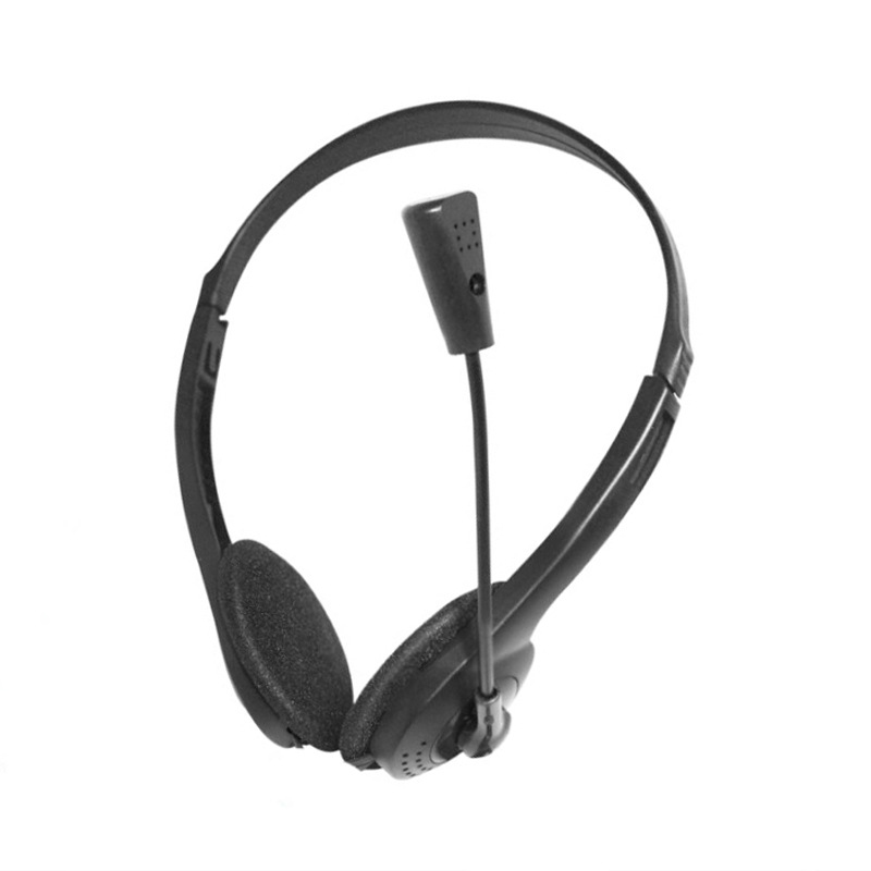 Diligent Top Deals 3.5mm Stereo Headset Earphone Headphone With Microphone Mic Adjustable Headband For Computer Laptop Desktop To Be Highly Praised And Appreciated By The Consuming Public