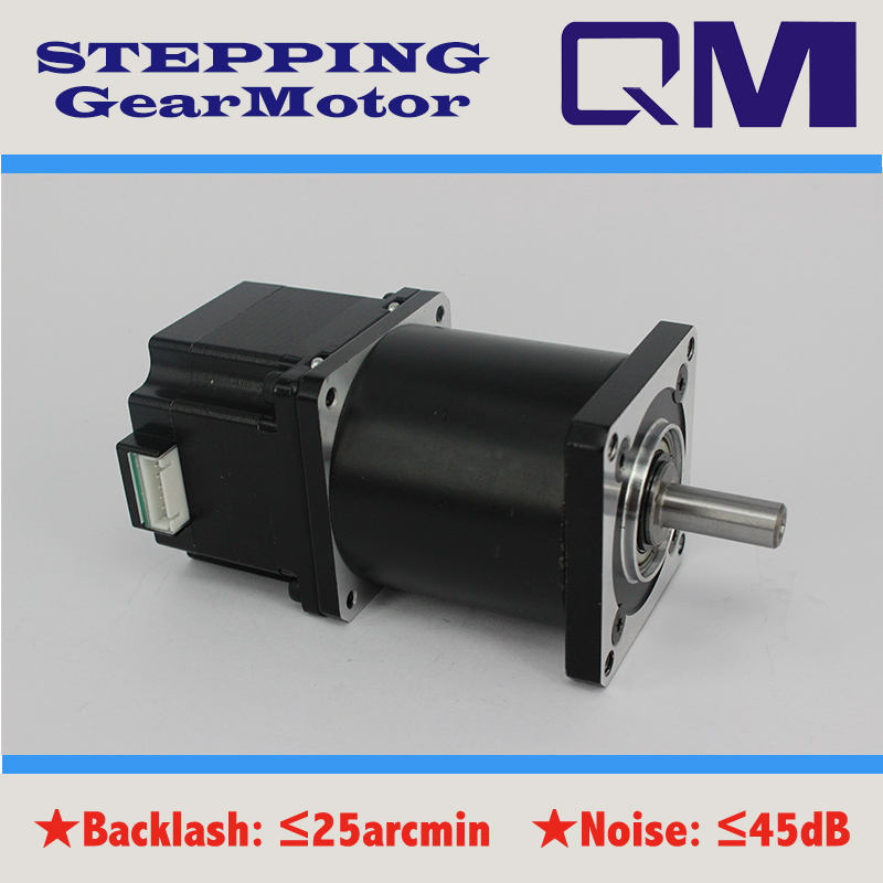 ФОТО  Gear motor nema 23 stepper motor L=42mm   planetary  gearbox ratio 50:1