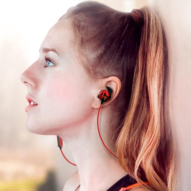Bluedio AI Sports  earphone in-ear earbuds Built-in Mic Sweat proof good bass earbud Bluetooth headset/Wireless