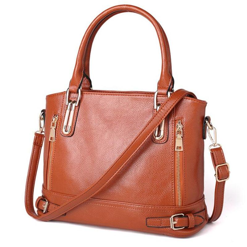 Sales Promotion!2017 Leather Female Bag Famous Brand Designer Crossbody Bag Women Handbags High Quality Women Messenger Bags