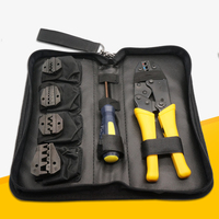Alicate Crimpador Crimper Ratcheting Crimping Plier Tool Kit Set Insulated Non insulated Cable Wire Hand tool 0.5 35MM2
